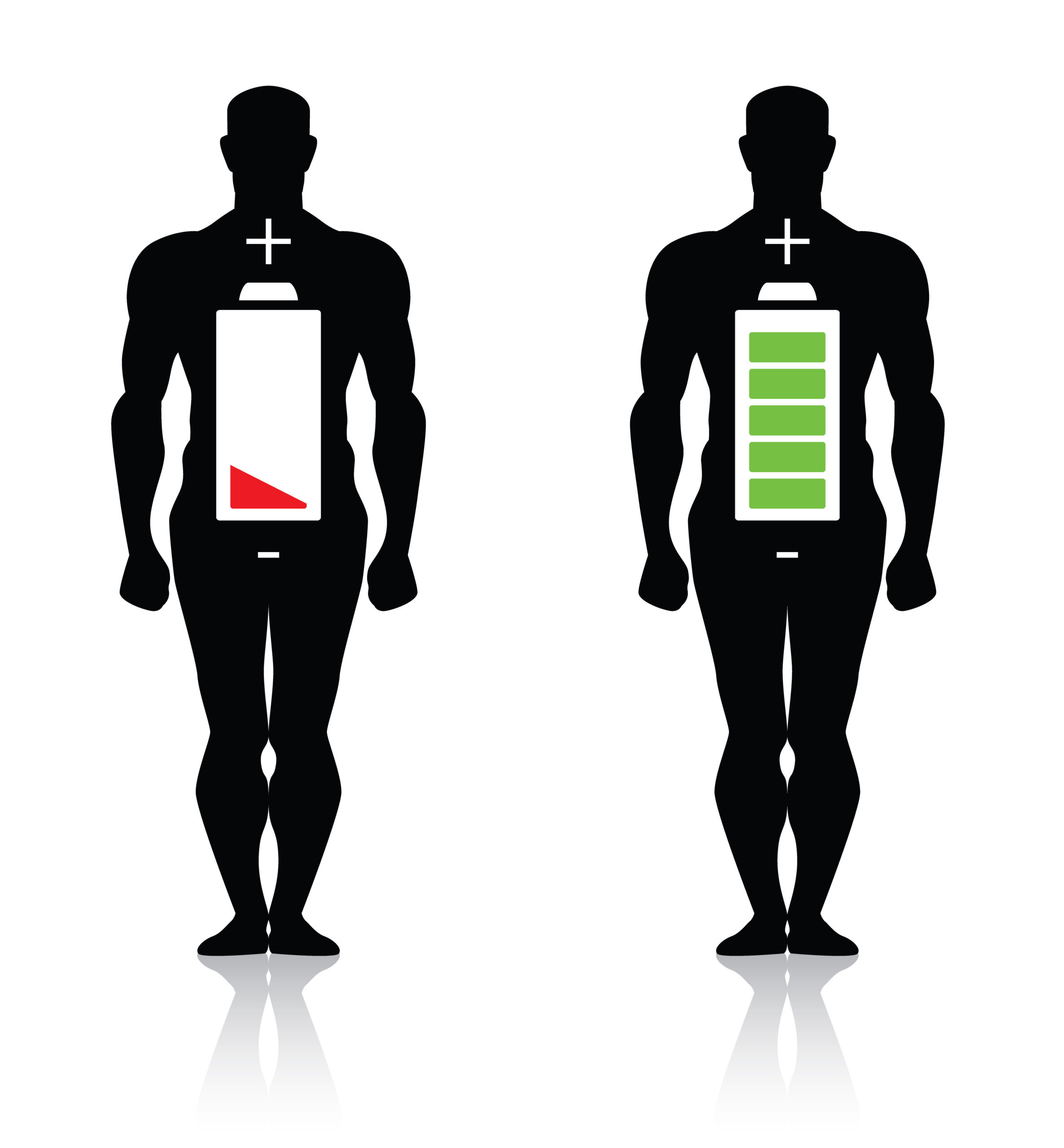 Our body has a battery