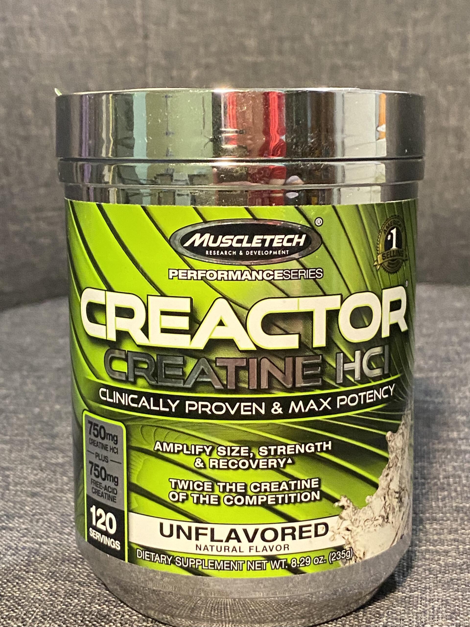Creactor Creatine Hydrochloride