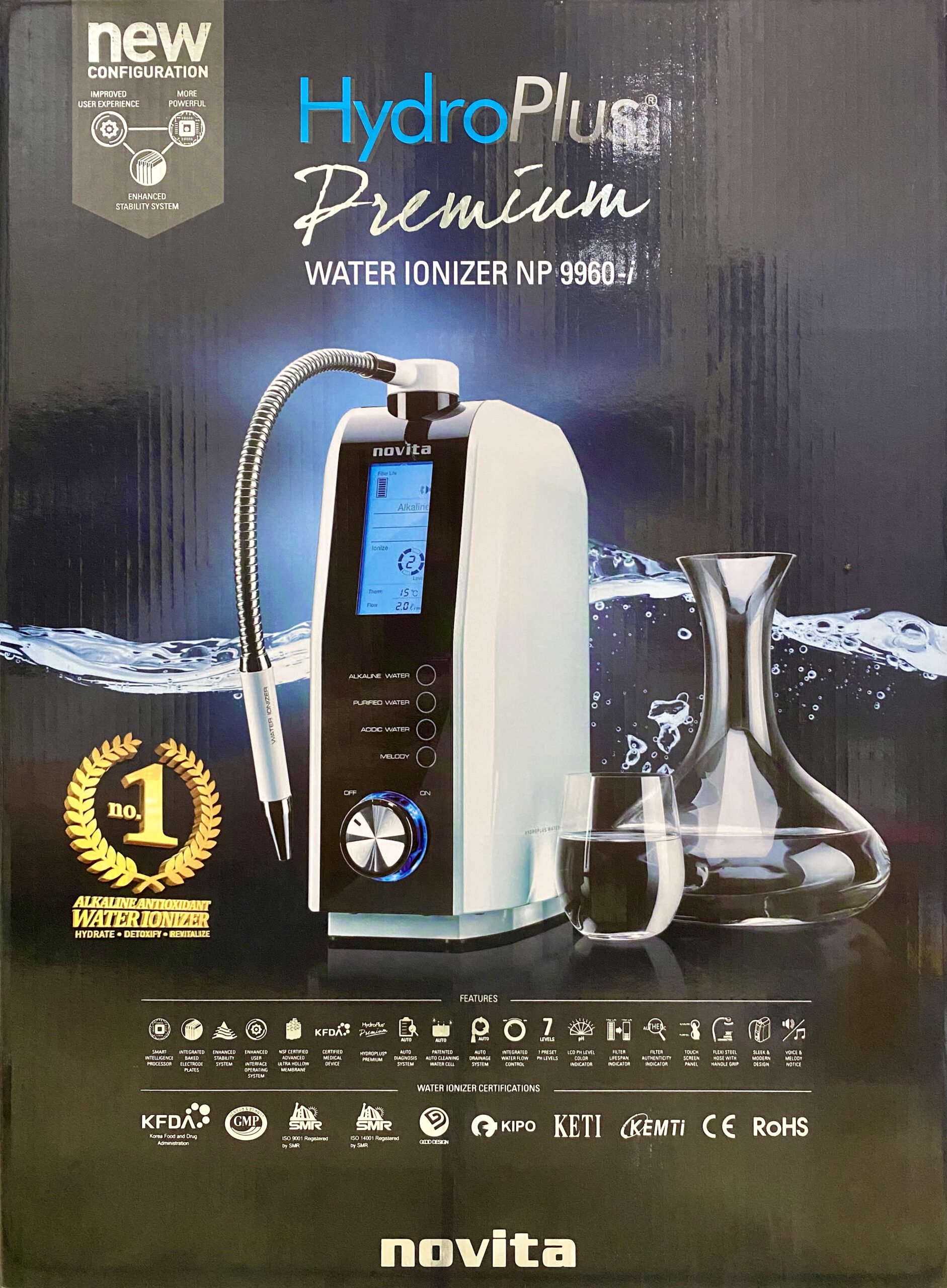 Novita Water Ionizer